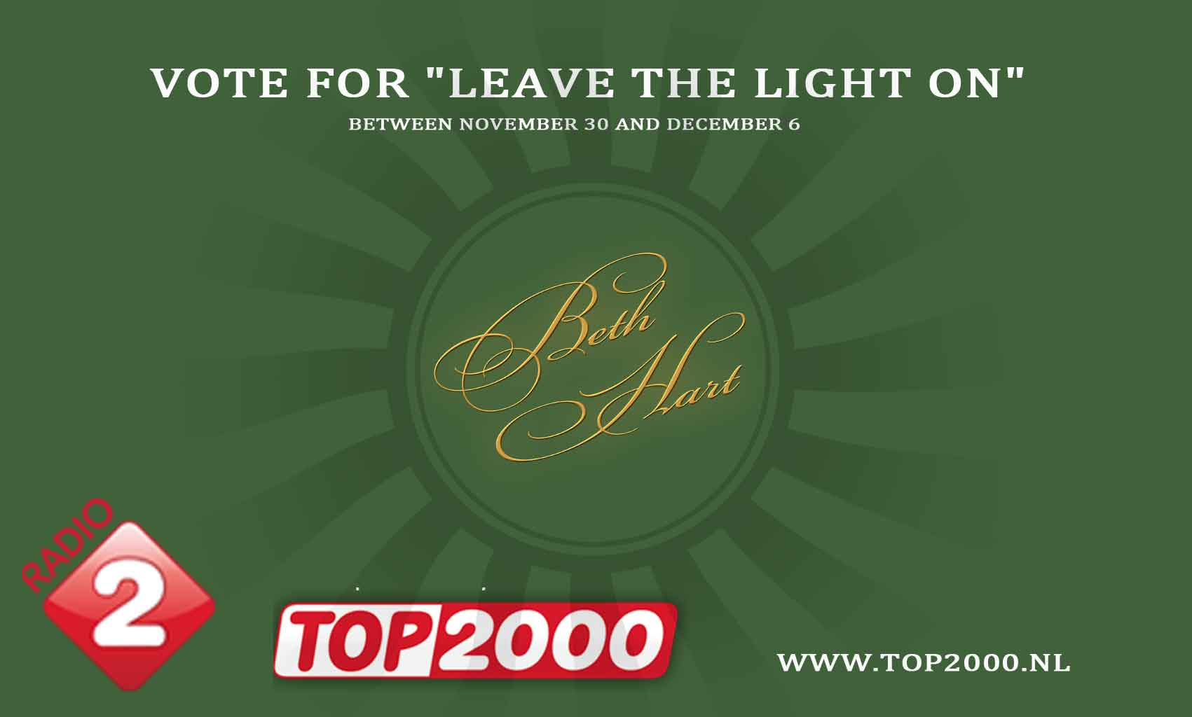 Top 2000 – vote for LTLO