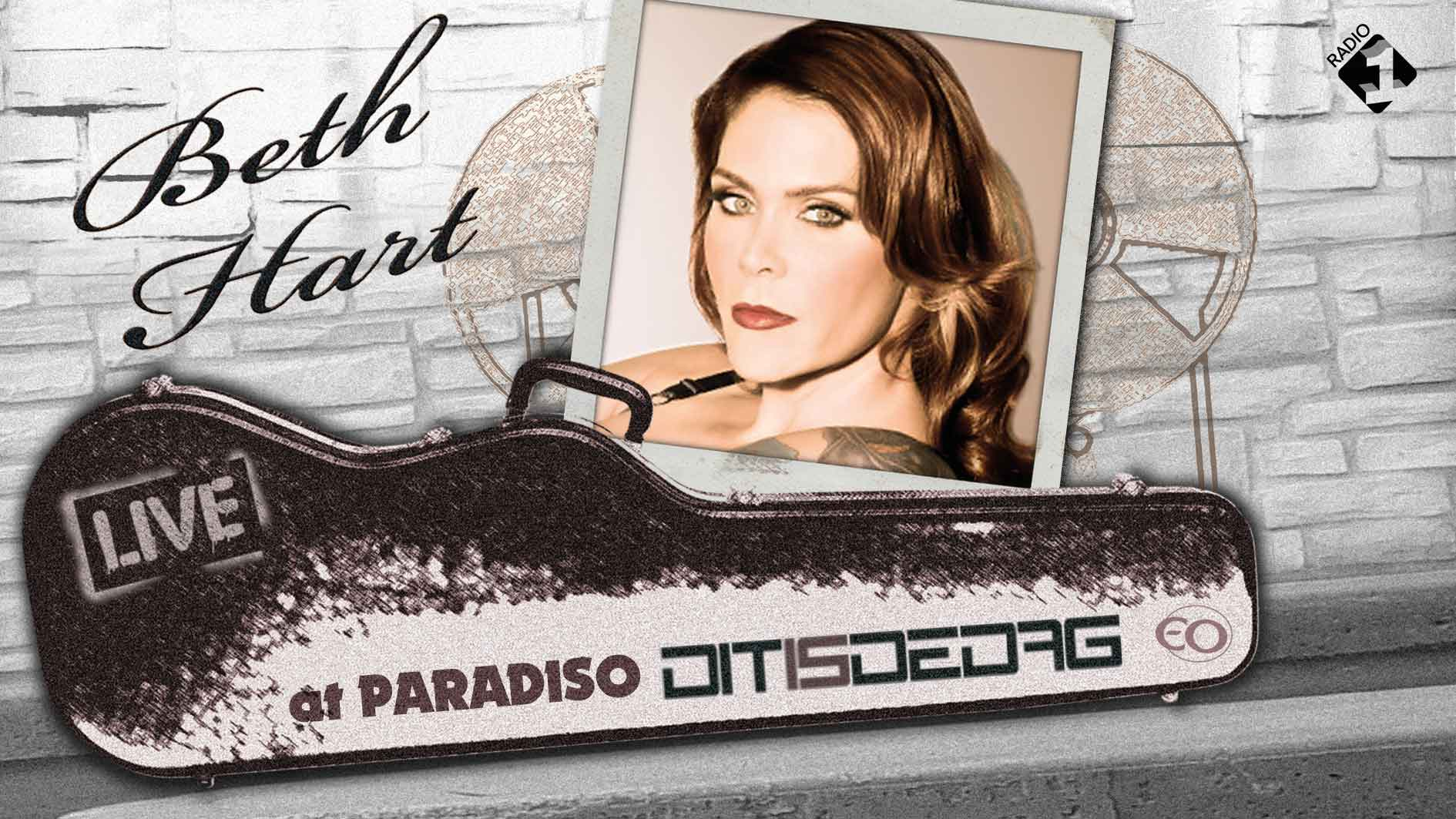 Beth Hart on Radio 1 NL